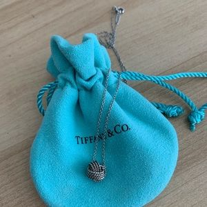 Tiffany & Co Twist Knot Pendant